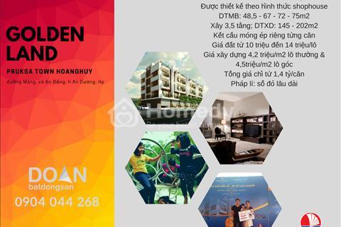 Golden Land là tiểu dự án tại khu đô thị Pruksa Town Hoàng Huy