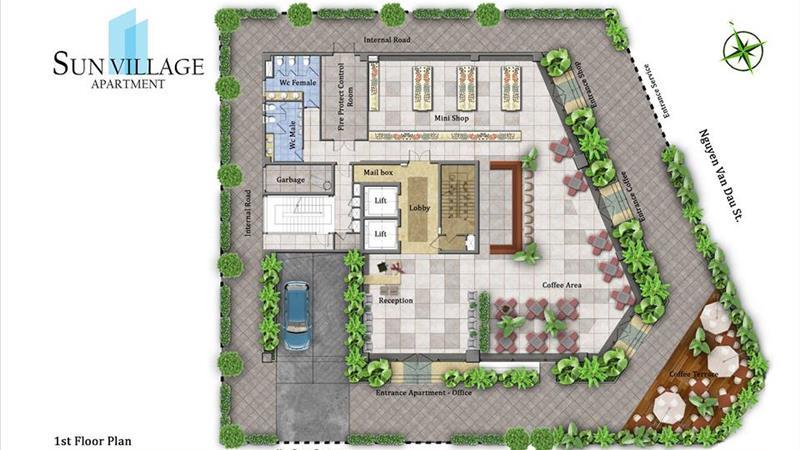 Dự án Sun Village Apartment TP Hồ Chí Minh - ảnh giới thiệu