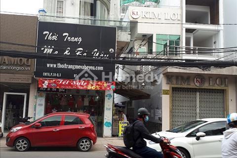 Cho thuê mặt bằng mặt tiền đường Cách Mạng Tháng 8 - phường 10 - quận 3