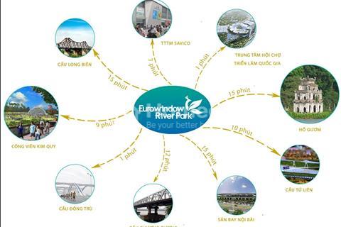 Shophouse dự án Eurowindow River Park Đông Hội - cơ hội để đầu tư tốt nhất 2018
