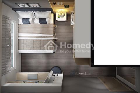 Căn hộ cao cấp 1 phòng ngủ, 53m2, full nội thất, view cực thoáng mát, tầng trung