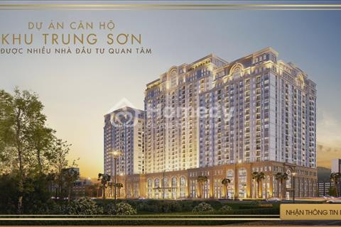 Bán nhà phố thương mại mặt tiền Nguyễn Văn Cừ, khu Trung Sơn chỉ 37 triệu/m2, vị trí sầm uất