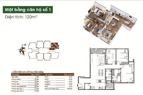 Bán căn góc 120m2 dự án Việt Hưng Green Park sắp nhận nhà, tiện ích 5 sao