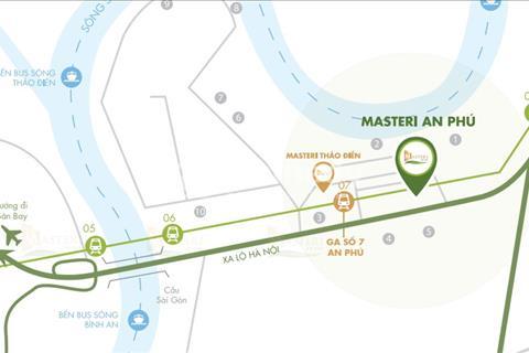 Shophouse dự án Masteri An Phú 100m2 giá 13 tỷ
