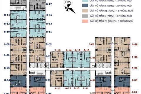 Căn hộ Đại Lộ Ánh Dương quận 8, 49m2 giá 1,055 tỷ/căn - thanh toán 30% nhận nhà
