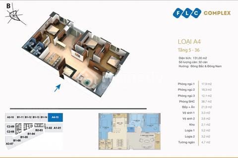 Chính chủ bán gấp căn hộ tại FLC Complex 36 Phạm Hùng