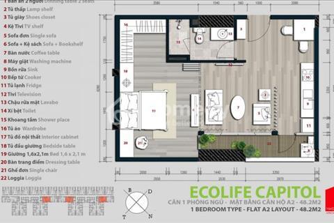 Chính chủ cần bán gấp căn hộ tại dự án EcoLife Capitol số 48 Tố Hữu