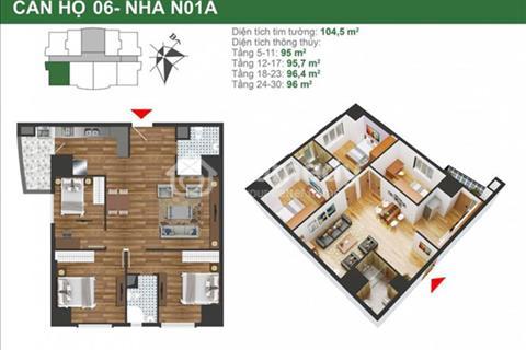 Cần chuyển nhượng căn hộ 84m2 dự án K35 Tân Mai