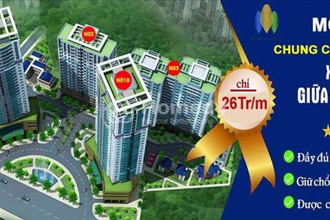 Sở hữu chung cư K35 Tân Mai, Hoàng Mai, giá gốc chỉ từ 21 triệu