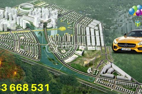 Bán lô biệt thự 240m2 view hồ đẹp dự án khu đô thị Phúc Ninh, đã có sổ đỏ, giá rẻ