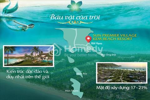 Bán căn biệt thự Sun Kem Beach Sun Group, duy nhất tặng 250 triệu, chiết khấu 20%, vốn chỉ 6,3 tỷ