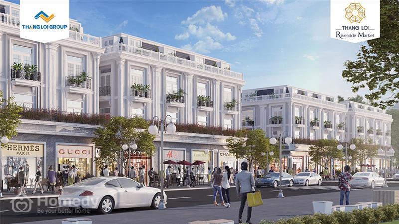 Dự án Phố chợ Thắng Lợi Riverside Market Long An - ảnh giới thiệu