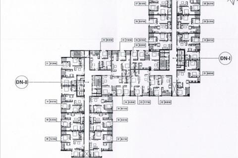 Bán lỗ căn hộ chung cư Hà Nội Center Point, căn 1507 và 1501, giá 30 triệu/m2