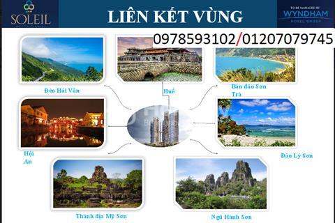 Soleil Ánh Dương tổ hợp căn hộ khách sạn đẳng cấp nhất Đà Nẵng view biển Mỹ Khê chỉ từ 2 tỷ