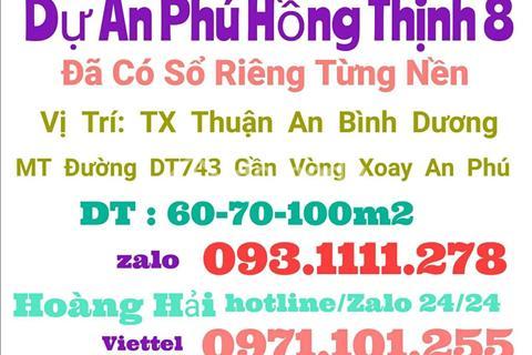 Dự án mới nhất Thuận An, Phú Hồng Thịnh 8 sau thành công của Phú Hồng Thịnh 6