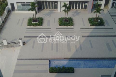Cho thuê lâu dài căn 68m2 block D1, view hồ bơi, công viên, phố thủy tinh, 3 máy lạnh, rèm cửa, tủ
