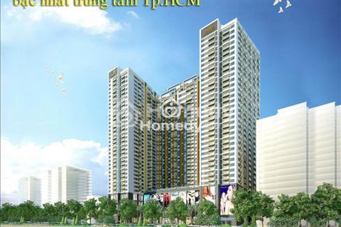 Cho thuê căn hộ 2 phòng ngủ TNR The Gold View Bến Vân Đồn giá chuẩn 15,4 triệu/tháng