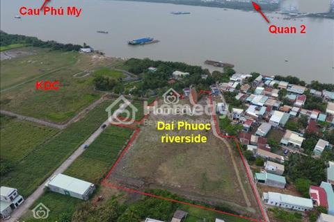 Mở bán khu dân cư ven sông Nhà Bè, Cát Lái quận 2 chỉ 790 triệu/100m2, đất thổ cư