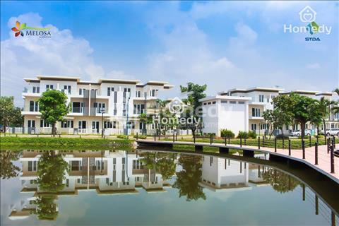 Chuyển nhượng 1 hoặc 2 căn nhà phố liền kề khu dân cư Melosa Khang Điền 5x25m, giá 5,3 tỷ