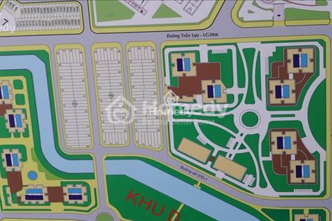 Bán nền 5x20m khu D An Phú An Khánh 87 triệu/m2