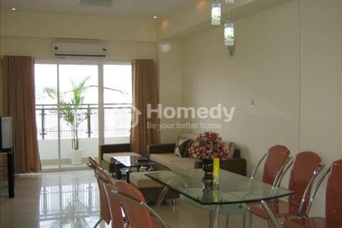 Cho thuê căn hộ chung cư Sao Mai quận 5, 80m2, 2 phòng ngủ, nội thất đầy đủ, lầu thấp