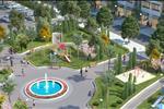 Dự án sở hữu mật độ xây dựng thấp chỉ hơn 33%, còn lại là diện tích dành cho các công viên cây xanh, các phân khu tiện ích, giải trí nhằm đáp ứng nhu cầu sống cho cư dân dự án.