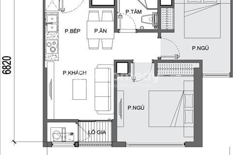 Chính chủ bán gấp căn hộ 2 phòng ngủ tòa G3 tầng 32 làm văn phòng, 53m2, nhận thô