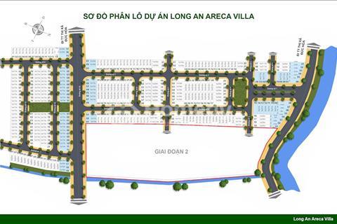 Đất nền tại Long An Areca Villa, khu đô thị hiện đại hoá
