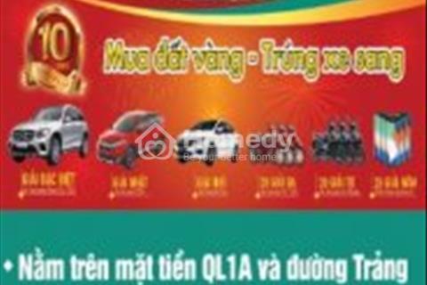 Rước lộc đầu xuân !!!Đất nền đầu tư sinh lời cực cao mặt tiền quốc lộ 1A do Kim Oanh làm chủ đầu tư