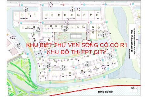 Đất nền FPT, mở bán đất nền biệt thự R1 giá gốc chủ đầu tư, 10 triệu/m2