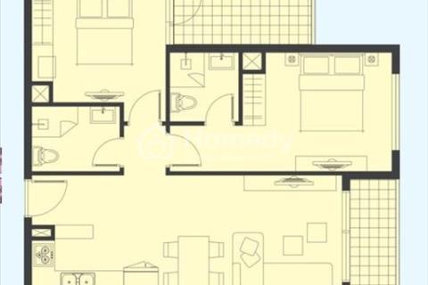 Bán căn hộ cao cấp tầng 29, view đẹp, 2 phòng ngủ, 74m2