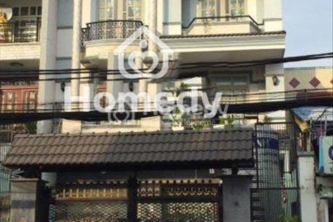Cho thuê nhà mới 247 mặt tiền Bình Trị Đông, Bình Tân, diện tích 8x24m, 2 lầu, giá 45 triệu/tháng