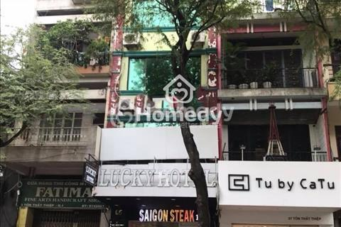 Cho thuê mặt tiền Nguyễn Trãi, 8x18m, hầm, trệt, 7 lầu, thang máy, tiện spa, trường, ngân hàng