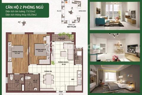 Mới nhất, căn hộ 5 sao, 4 mặt tiền đường khu Bàu Cát, Tân Bình, chỉ 1,5 tỷ/căn, đầu tư ngay
