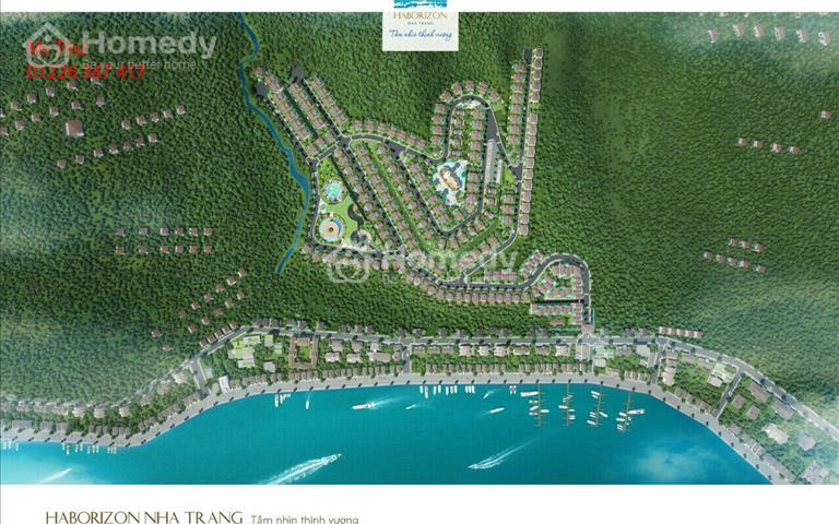 10 lô trung tâm cuối cùng dự án Haborizon Nha Trang - tầm nhìn thịnh vượng