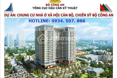 Bán suất ngoại giao chung cư nhà ở xã hội, cán bộ chiến sỹ Bộ Công An