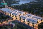 Nằm trên trục đường Ngô Xuân Quảng kéo dài, nhà phố East Center có quy mô 13.000 m2 với 110 lô đất nền.