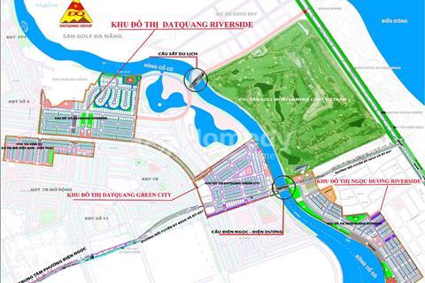 Nhận đặt chỗ dự án Đất Quảng Riverside liền kề khu Cocobay Đà Nẵng