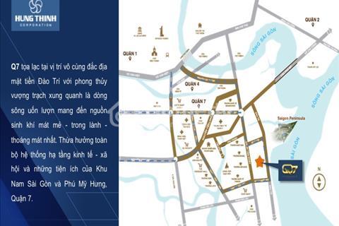 Chính thức mở bán dự án mới căn hộ Saigon Riverside Hưng Thịnh Corp