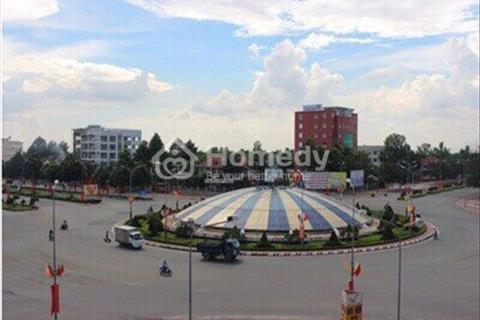 Bán đất thành phố Nhơn Trạch mặt tiền Nguyễn Ái Quốc chỉ 5,5 triệu/m2 thổ cư sổ riêng
