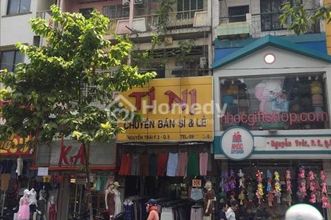 Cho thuê nguyên căn mặt tiền đường Nguyễn Trãi - Phường 2 - Quận 5