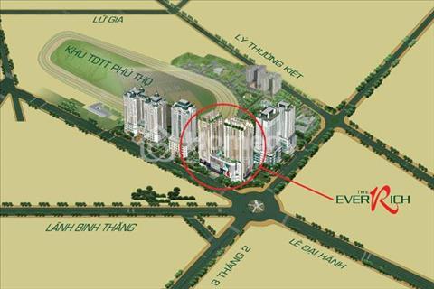 Bán căn hộ cao cấp The Everrich I trung tâm quận 11, từ 4 tỷ/110m2, full nội thất