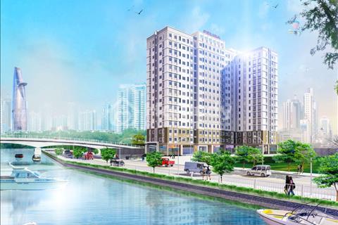 Sở hữu căn hộ ngay chân cầu Nguyễn Tri Phương Quận 8 chỉ với 400tr - Căn 2PN view sông.