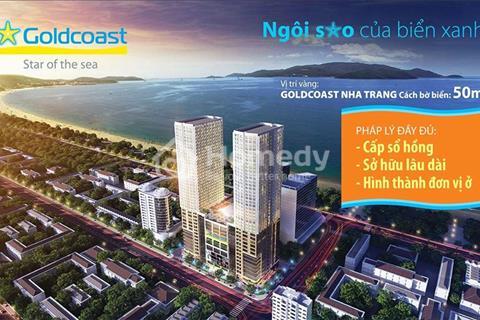 Căn hộ số 2 tòa Bắc dự án Gold Coast Nha Trang, tầng cao view biển, giá bán nhanh
