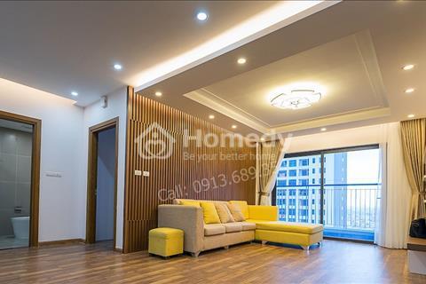 Cho thuê căn hộ chung cư Goldmark City 136 Hồ Tùng Mậu (3 phòng ngủ 115m2 thoáng nhất cụm Ruby)