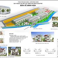 Mở bán khu dân dư mặt tiền Vĩnh Lộc, chỉ 630 triệu/nền, đối diện chợ Bình Chánh