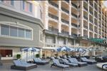 Các đường nét hoa văn lấy cảm hứng từ châu Âu tạo cảm giác lạ mắt cho các thiết kế tại Lan Rừng Resort Phước Hải Beach.