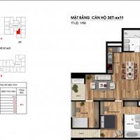 Chủ nhà gửi bán căn hộ 2 phòng ngủ, diện tích 75m2, Imperia Garden, view nội khu, giá 2,5 tỷ