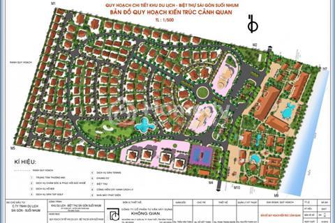 Khu biệt thự nghỉ dưỡng Sài Gòn Suối Nhum Villa