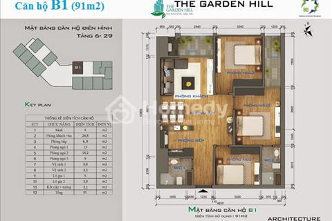 Chỉ đóng 20% giá trị căn hộ sở hữu ngay căn 2 phòng ngủ gần bến xe Mỹ Đình tuyệt đẹp